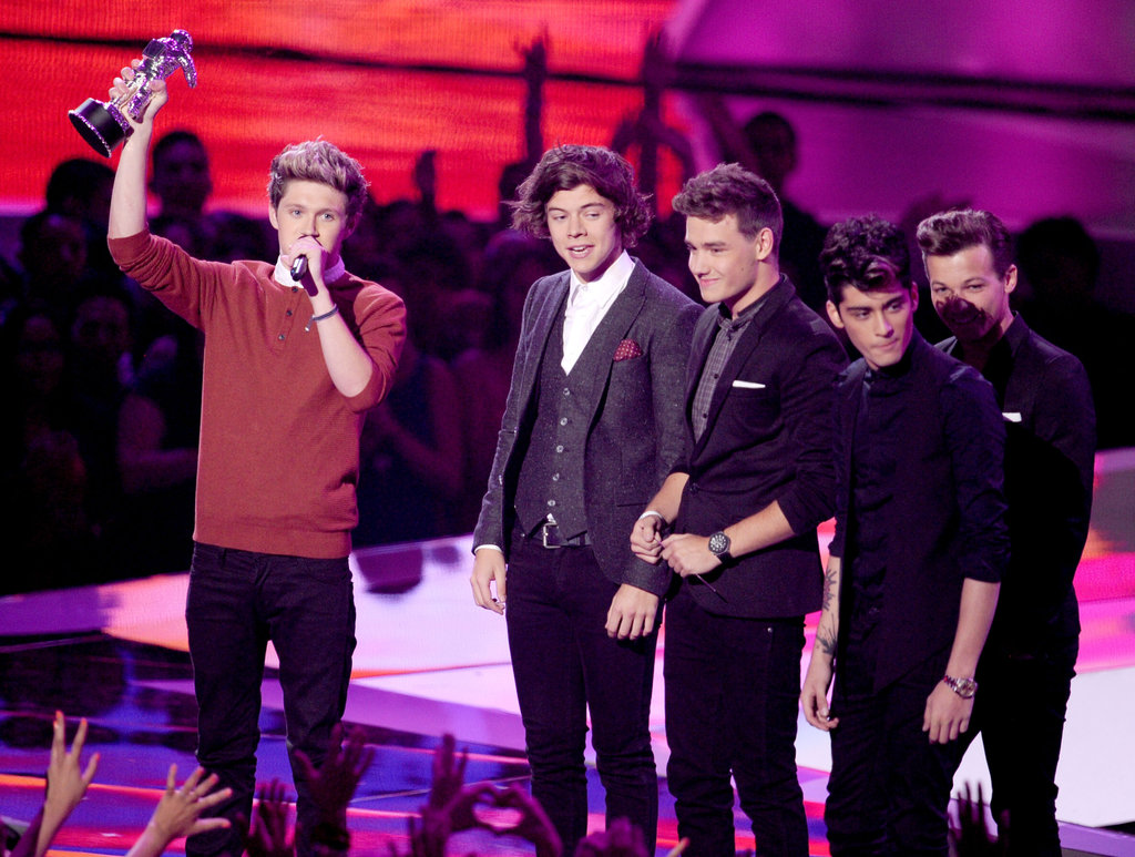 One Direction picked up an award at the VMAs.