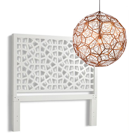 Headboards and Lights For the Bedroom