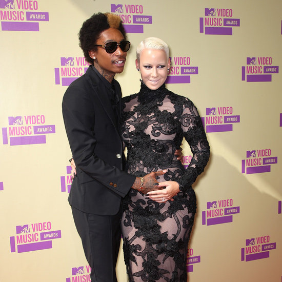 Amber Rose And Wiz Khalifa Are Expecting!