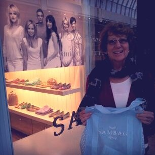 HOW cute is my mum? She got all adorable on me and bought a pair of the FabSugar for Sambag ballet flats.