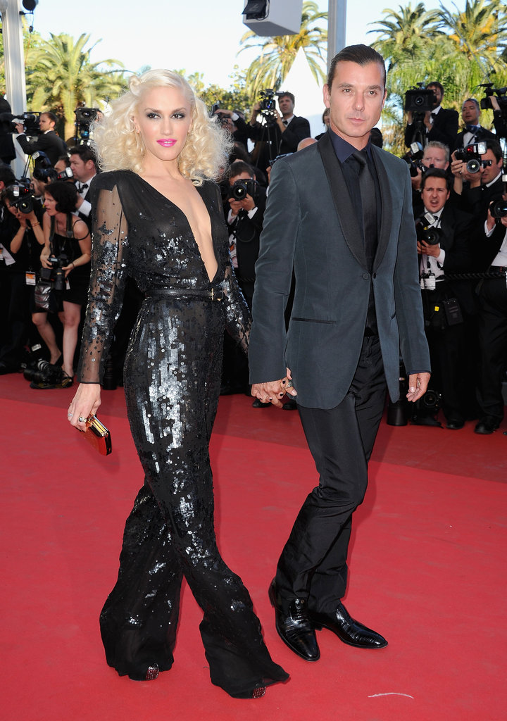 Gwen and Gavin attended The Tree of Life's premiere in Cannes in May 2011.