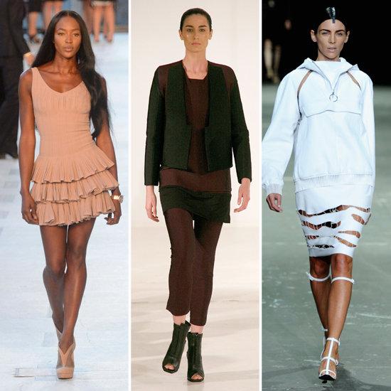 British Models at Spring 2013 New York Fashion Week