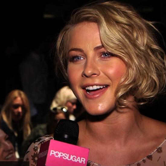 Julianne Hough Fashion Week Interview | Spring 2013