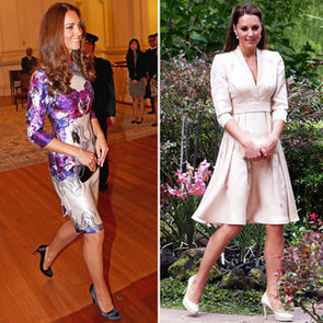 Kate Middleton Wears Two Floral Frocks in Singapore for the Diamond Jubilee Tour: Jenny Packham & Prabal Gurung!