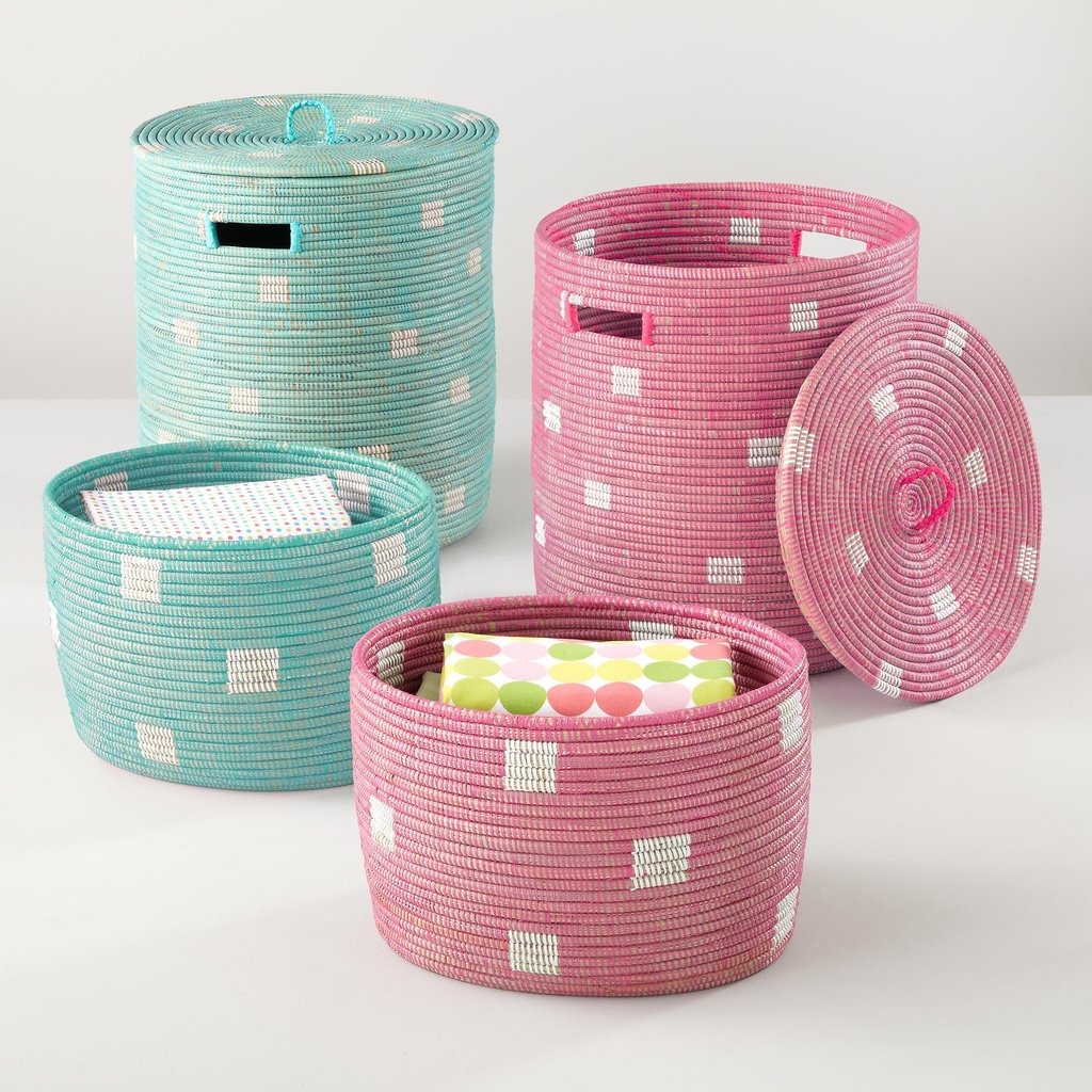 Land of Nod Charming Baskets ($45-$89)