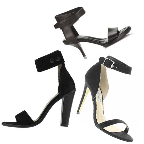 Desk-Bound Buys: Top Five Black Two-Strap Heels