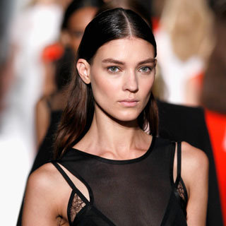 Photos of the Hair and Makeup Look at Victoria Beckham Spring Summer 2013 New York Fashion Week