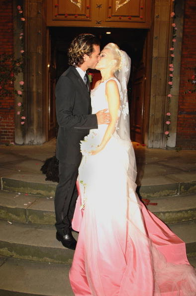 Gavin Rossdale and Gwen Stefani married at St Paul's Cathedral in London on Sept. 14, 2002.