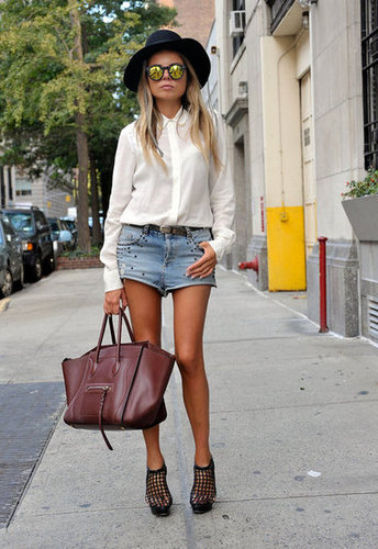 Western-inspired but with a cool-girl kick (and an enviable Céline).