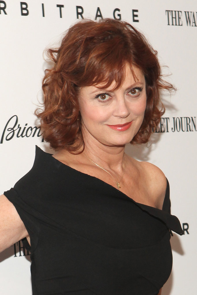 Susan Sarandon stepped out for the Arbitrage premiere in NYC.