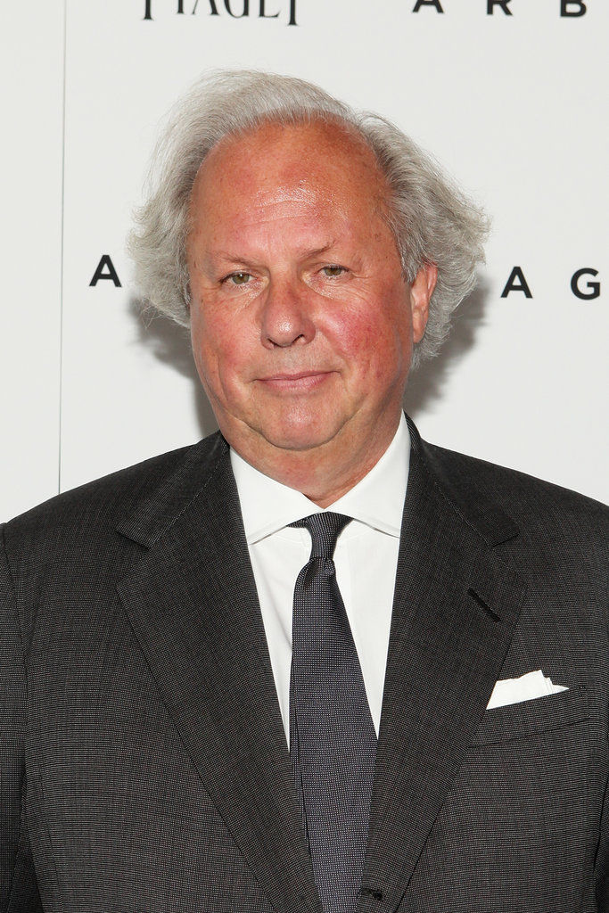 Graydon Carter stepped out for the Arbitrage premiere in NYC.