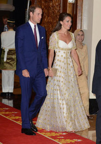 dinner-Malaysia-head-state-Kate-chose-gold