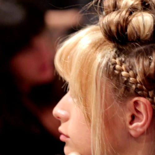 Rachel Zoe Spring 2013 Hair and Makeup