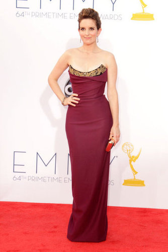 Tina Fey looked stunning in a Vivienne Westwood gown.