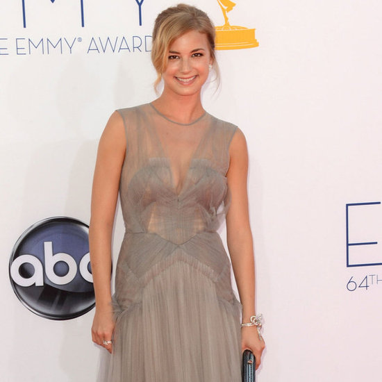Emily VanCamp in J. Mendel at Emmys | Pictures