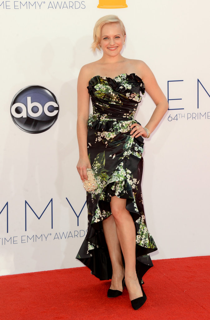 Elizabeth Moss stepped out for the Emmy Awards.