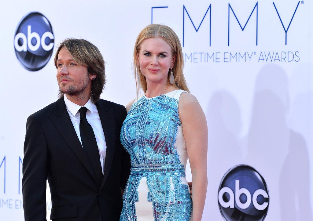 Keith Urban and Nicole Kidman posed together.