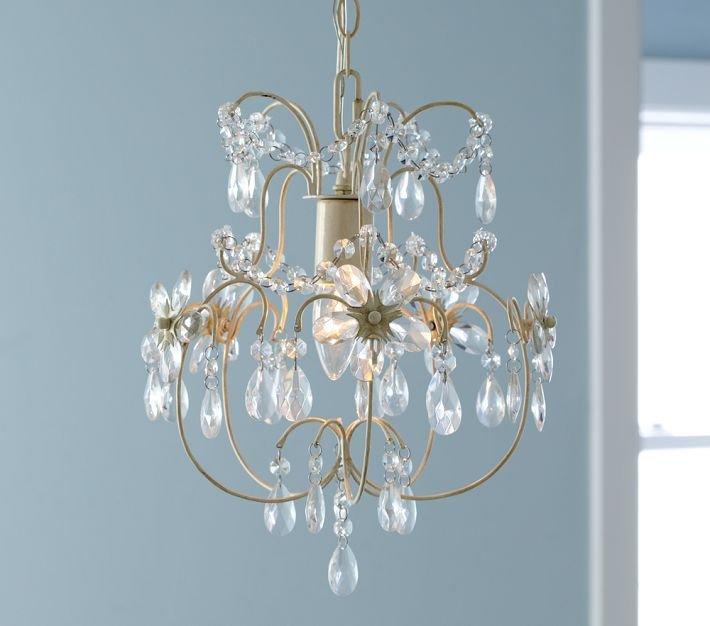 Olivia Mini Crystal Chandelier