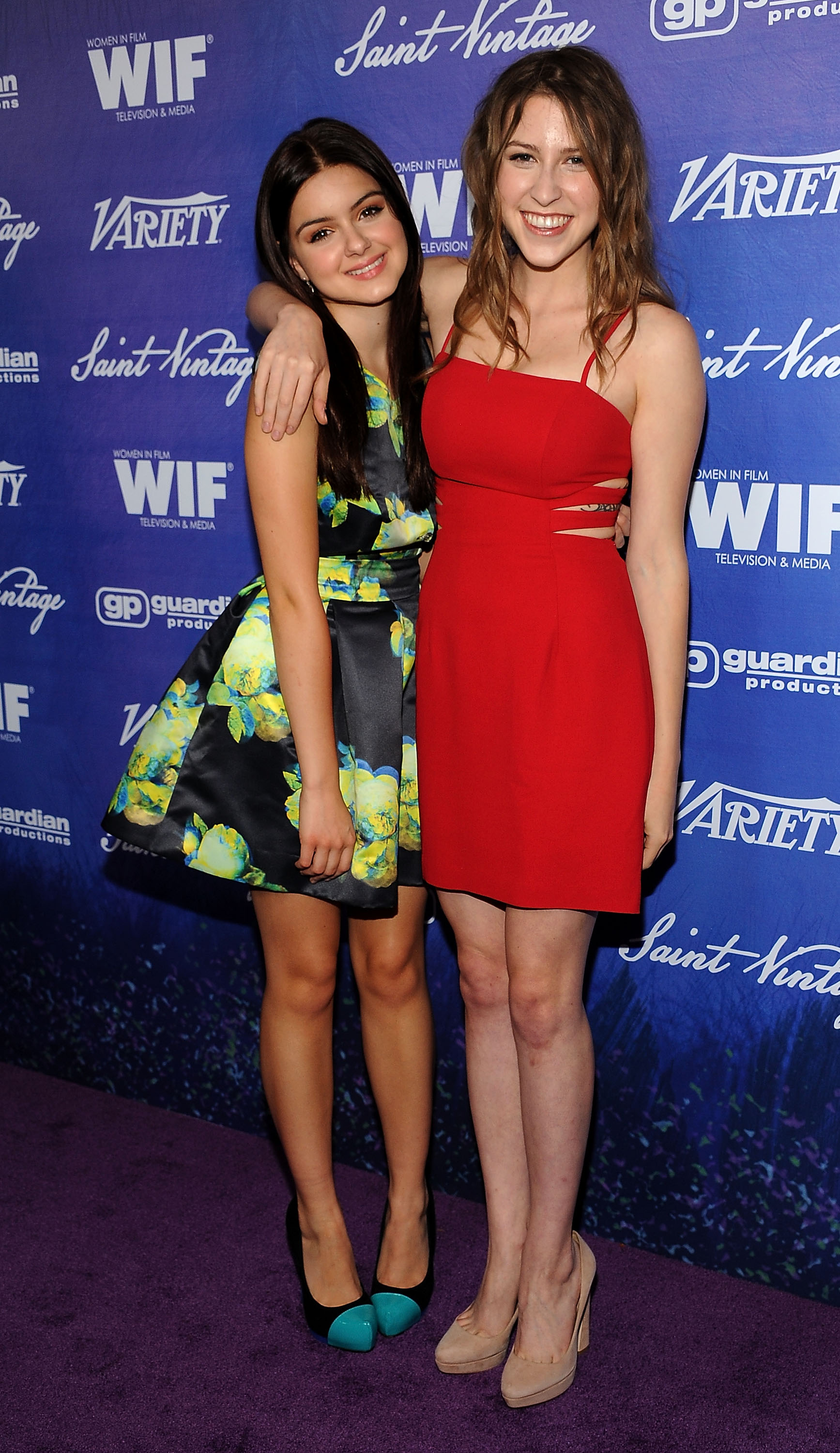 Photo of Eden Sher & her friend actress  Ariel Winter -