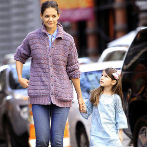 Katie Holmes and Suri Cruise Walking in NYC | Pictures