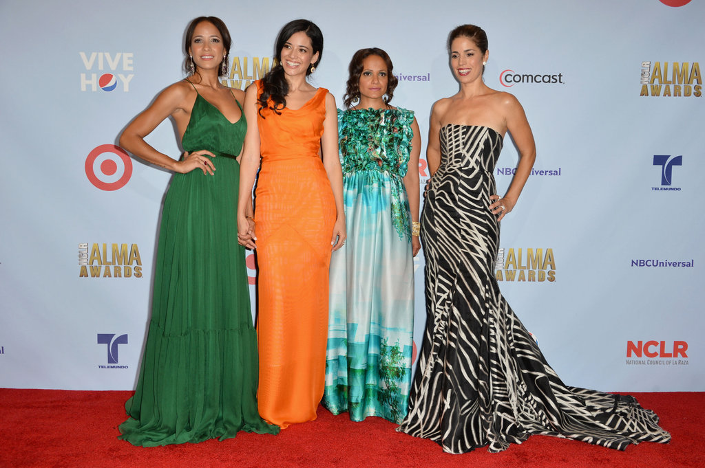 Dania Ramirez, Edy Ganem, Judy Reyes, and Constance Marie got together at the ALMA Awards in LA.