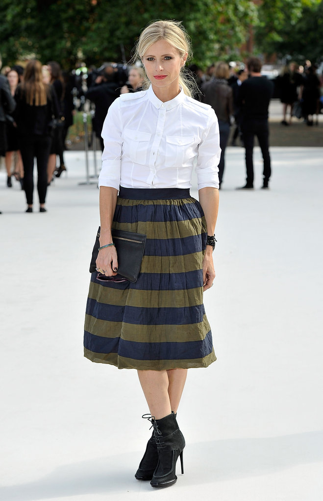 Laura Bailey at Burberry