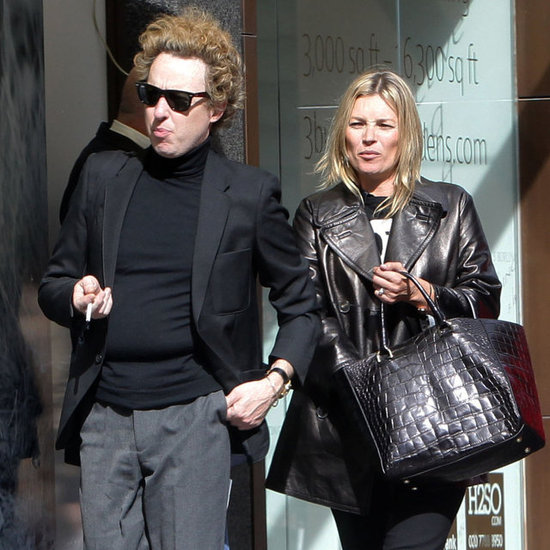 Kate Moss Lunches in London With James Brown | Pictures