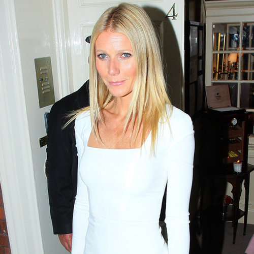 Gwyneth Paltrow Makes Yet Another Case For the Minimalist White Dress