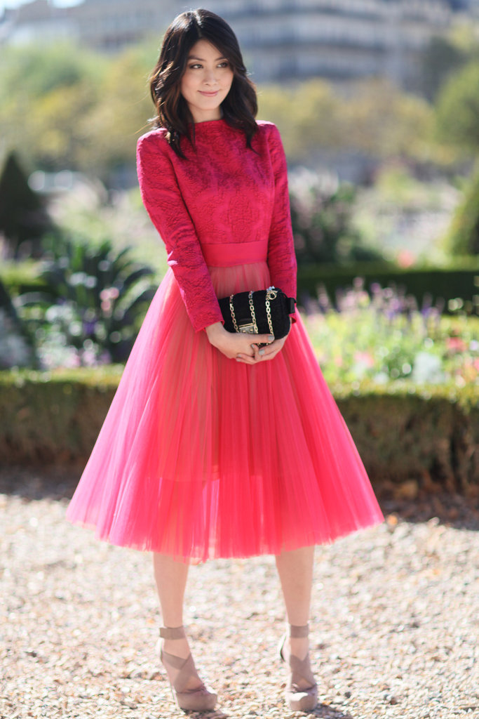 Pretty in pink and tulle.