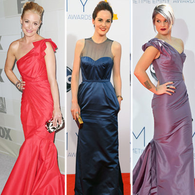 Cat Deeley, Downton Abbey, Kelly Osbourne Emmys 2012 Fashion