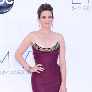 Tina Fey Pictures at 2012 Emmys Talking 30 Rock Last Season