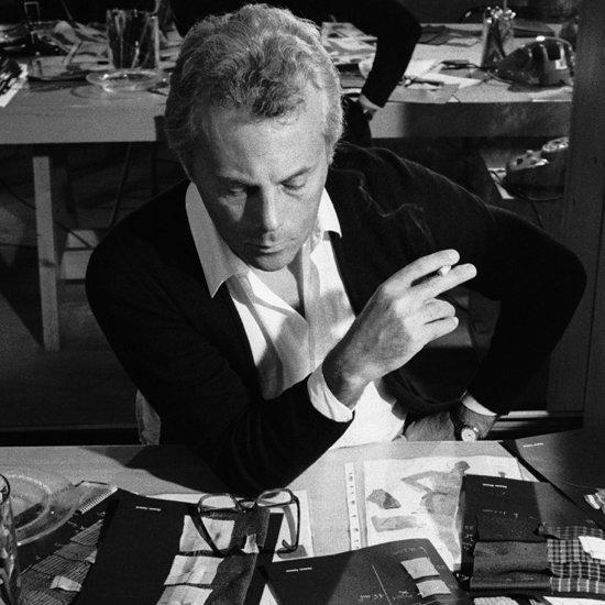 Giorgio Armani on His Work Ethic