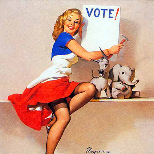 Vintage Voting Posters