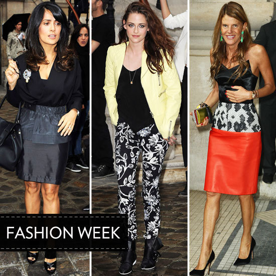 We couldn't take our eyes off the front rows and parties of Paris Fashion Week. Who do you think shined at the events?.