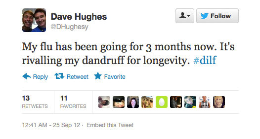 Dave Hughes overshares.