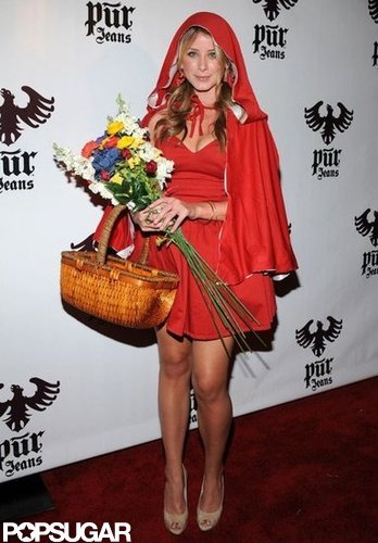Lo Bosworth made Little Red Riding Hood look hot at an event in LA in 2008.