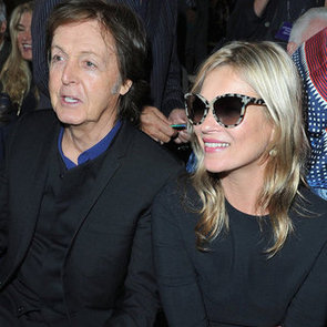 Front Row Celebrities at Stella McCartney 2013 Spring Paris Fashion Week Show