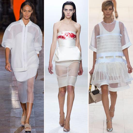 Sheer Skirt Trend | Spring 2013