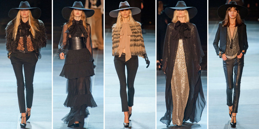Saint Laurent Spring 2013 | Pictures | POPSUGAR Fashion