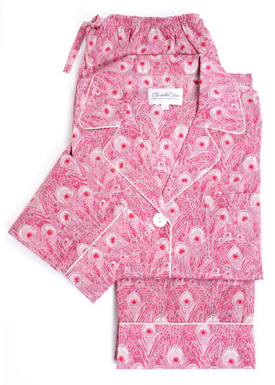 Sweet dreams are guaranteed with these gorgeous rose peacock print Elizabeth Cotton Liberty of London Cotton Pajamas ($198). Twenty-five percent of sales go to the Breast Cancer Research Foundation.