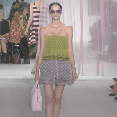 Christian Dior Spring 2013 Runway (VIDEO)