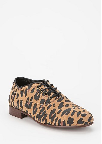 Glamorize even your most casual of looks with Generic Surplus X Obey Leopard-Print Oxfords ($84). A little leopard goes a long way.