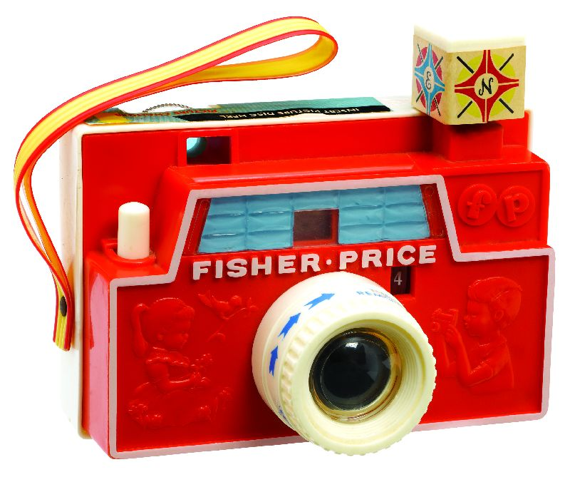 Basic Fun Inc. Fisher Price Changeable Picture Dish Camera