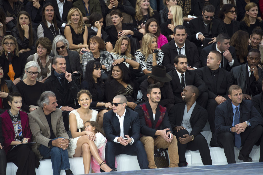 Jennifer Lopez Brings Emme Along to Chanel's Big Show