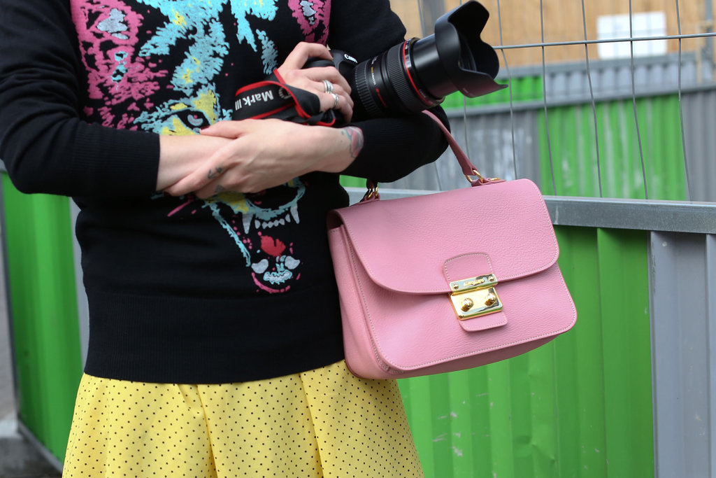 A pastel Miu Miu bag was quite literally the sweetest finish.