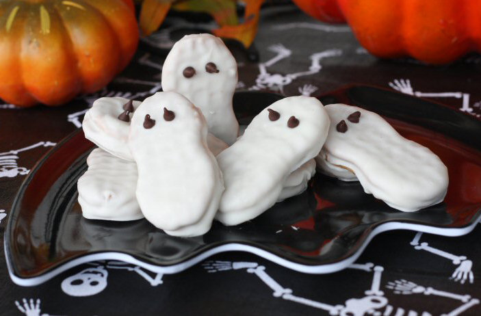 Nutter Butter Ghosts