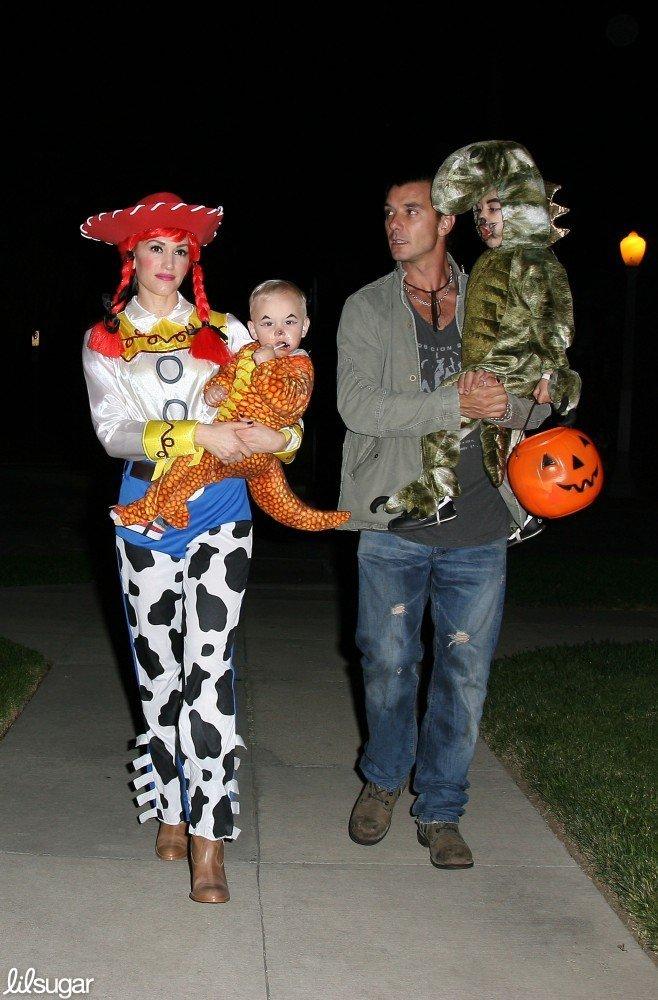 Gwen Stefani With Kingston, Zuma, and Gavin Rossdale