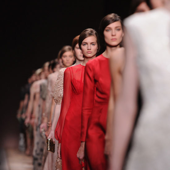 Pictures and Review of Valentino Spring Summer Paris Fashion Week Runway Show
