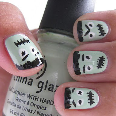 Nail Art and Nail Polish Ideas For Halloween
