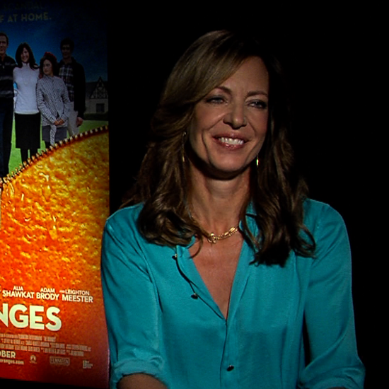 Allison Janney and Oliver Platt Interview For The Oranges